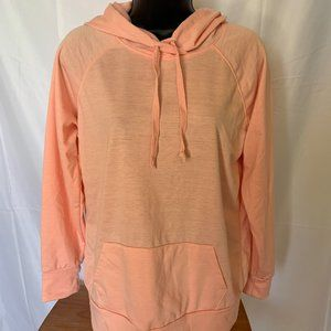 Joe Boxer Pink Salmon Light Hoodie Sweatshirt Medi